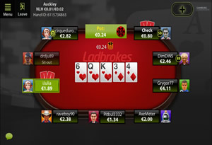 Ladbrokes Mobile Poker